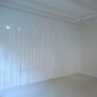 Electric, 2016, vinyl curtain, curtain: 10 x 17 feet, room size: 10 x 17 x 23.5 feet